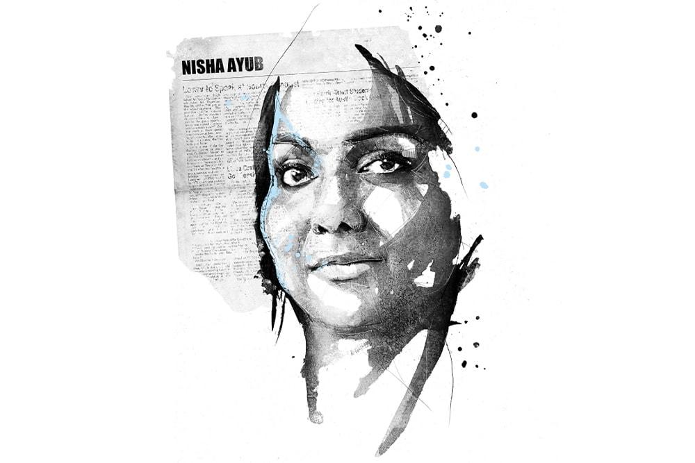 Une illustration de Nisha Ayub
