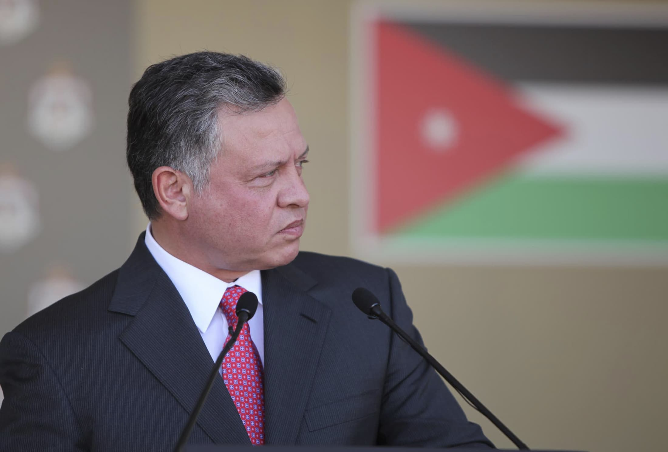 The amendments to Jordan's Anti-Terrorism Law now need only King Abdullah's approval and publication in the official gazette to become law, REUTERS/Yousef Allan/Royal Palace/Handout