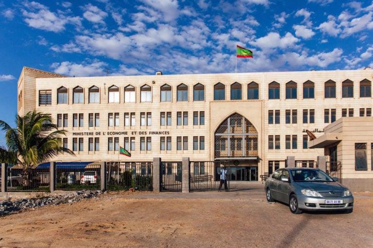 The Ministry of Economy and Finance, Nouakchott, Mauritania, 1 April 2019, CARMEN ABD ALI/AFP via Getty Images
