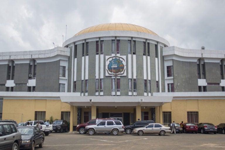 A general view of the House of Representatives, in Monrovia, Liberia, 27 September 2017, CRISTINA ALDEHUELA/AFP via Getty Images
